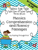 WTW Phonics Comprehension and Fluency Passages--Within Wor