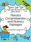 WTW Phonics and Comprehension Passages--Syllables and Affi