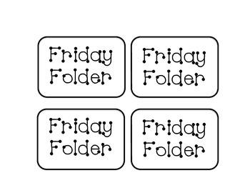 Friday Folder