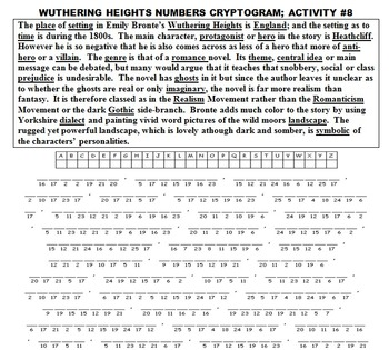 WUTHERING HEIGHTS RETOLD! (FUN, COMMON CORE, FULL PACKET, 44 PAGES)