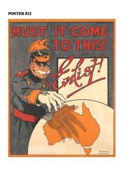WW I Propaganda Poster Analysis & Creation