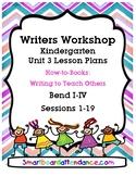 WW  Unit 3 How to Books Write to Teach Others Kindergarten