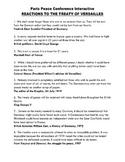 WW1 - 14 Points vs. Versailles Treaty