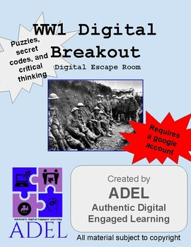 WW1 Digital Breakout