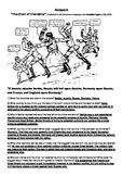 WW1 Political cartoon tensions in Europe