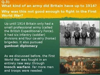 WW1 - Recruitment, conscription and Propaganda - World History