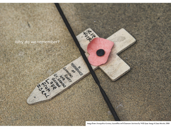 WW1 - Remembrance Day and the significance of the Poppy