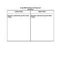 WW1 Response Worksheet (Allied Powers and Central Powers)