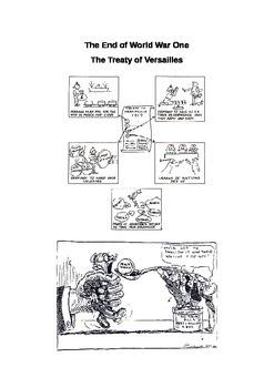 WW1 Treaty of Versailles Activity