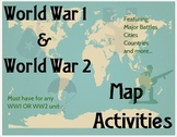 WW1 & WW2 Map Bundle