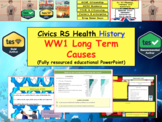 WW1 long term causes European History War and conflict Wor