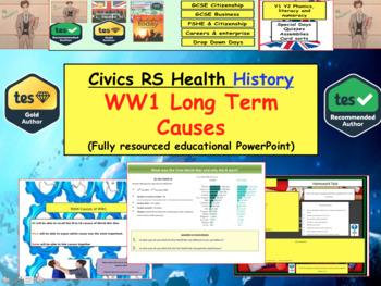 WW1 long term causes