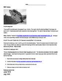 WW1 timeline interactive activity
