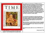 "WW2 - Hitler ""Time: Man of the Year"" 1939"
