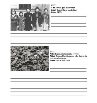 Rise of Dictators & World War 2 Holocaust Homework (Set of 2)