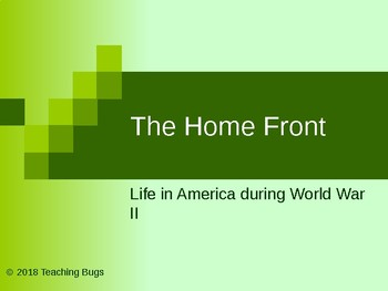 WW2 Home Front