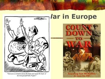 WW2 Start of War