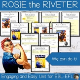 Women in History -  Rosie the Riveter Unit