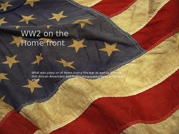 WW2 on the homefront