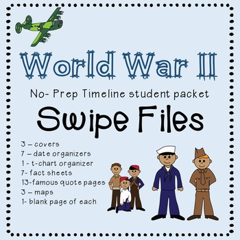 WW2 project student packet SWIPE files.  These graphics go with your lesson.