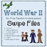 WW2 project student packet SWIPE files.  #thankful4u