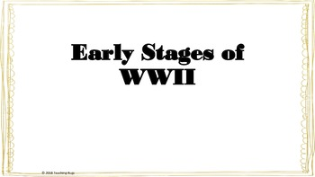 WW2 with interrative notes