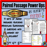 WWE Non Fiction Paired Passages Bundle, Wrestling Superstar paired selection