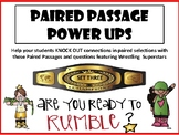 WWE Non Fiction Paired Passages, Wrestling Superstar paired selection set 3