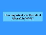 WWI Aircraft