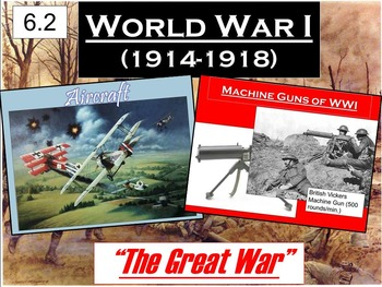 WWI Becomes a Total War Powerpoint & Notes (6.2)
