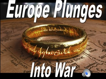The Lord of the Rings WWI Begins & the Western Front