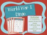 WWI Bingo
