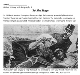 WWI Causes Bundle Common Core Lessons, Activities and Resources