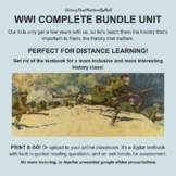 WWI Complete Bundle: M.A.I.N. Causes, Espionage & Sedition Acts, Womens Suffrage
