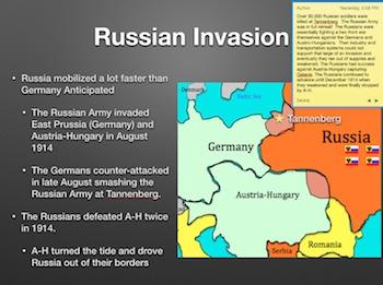 """World War 1 """"Europe Plunges Into War"""" Power Point / Keynote Presentation"""