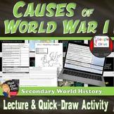 World War I - Europe Plunges into War – Quick-Draw Activity