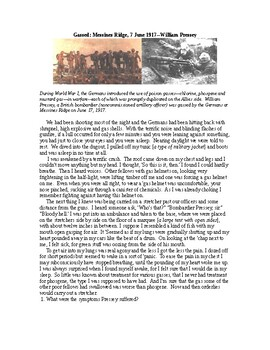 WWI: Gassed
