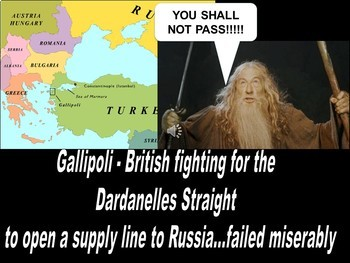 The Lord of the Rings WWI Global War & the Eastern Front