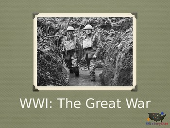 WWI Great War PowerPoint
