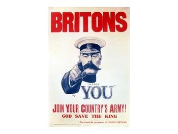 History: WWI History - Recruitment