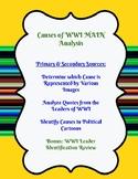 WWI Causes MAIN Analysis