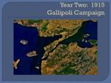 WWI Major Battles - 1915-1916