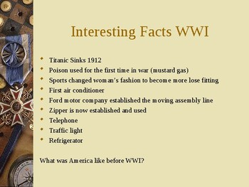 WWI Notes PPT