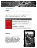 WWI Overview and Reading Comprehension