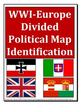 WWI Political Map Assignment
