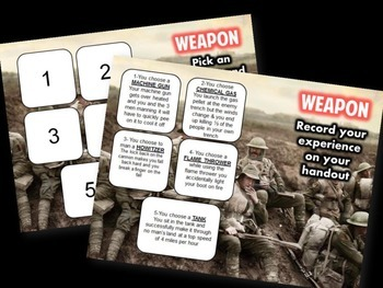 WWI PowerPoint Simulation- America Enters the War