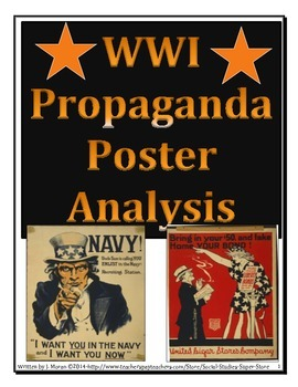 Secondary - WWI Propaganda Poster Analysis