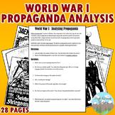 WWI Propaganda Analysis Activity (WW1)