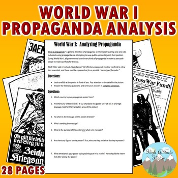 Propaganda Worksheets Teaching Resources Teachers Pay