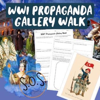WWI Propaganda Gallery Walk